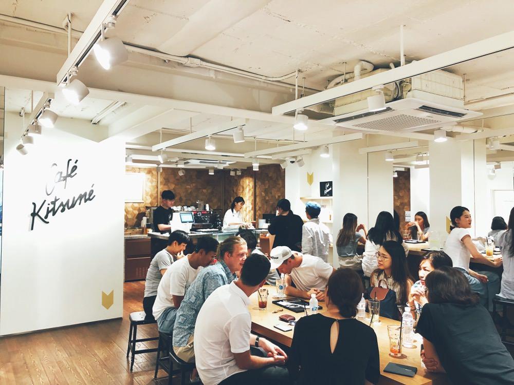 首爾新沙洞咖啡-Cafe Kitsume